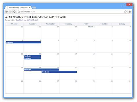tutorials daypilot for asp net mvc calendar scheduler ajax event calendar scheduler for asp net mvc in 80