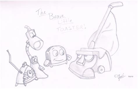 csc the brave little toaster by little power on deviantart