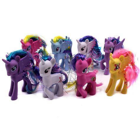 figure my pony 8pcs 8pcs my pony friendship is magic princess