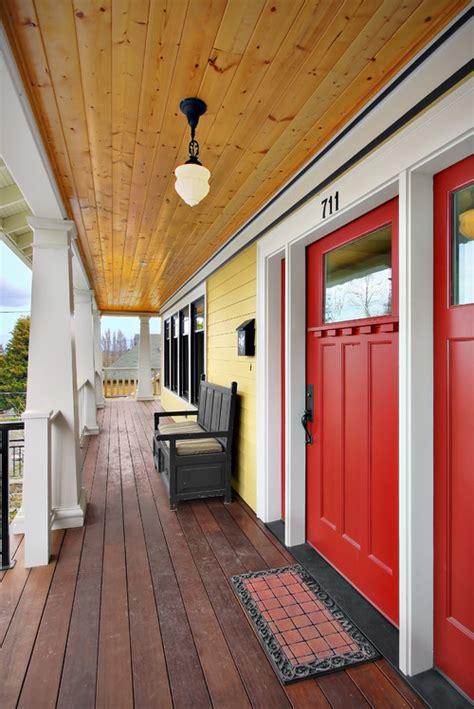 Front Door Stain Colors Craftsman Front Doors Make An Entrance Masonite