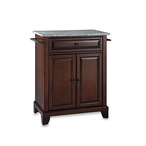 kitchen island with granite top for sale in spring new crosley newport granite top portable kitchen island bed