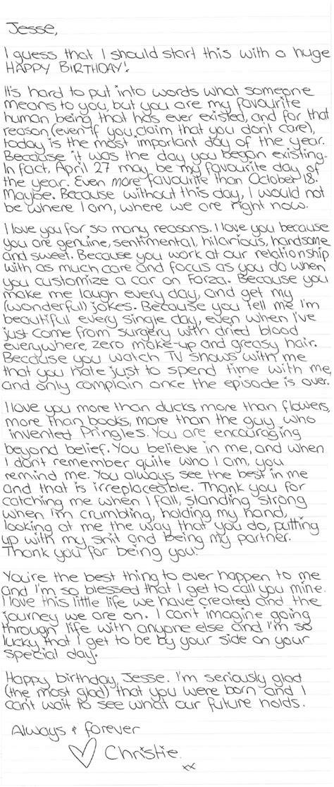 birthday letter to boyfriend a literal letter to happy birthday boyfriends 1090