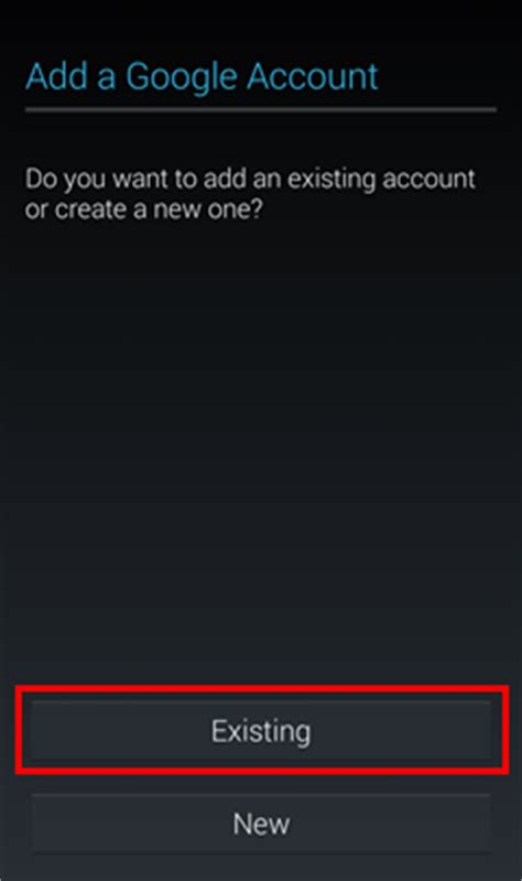 account recovery for android how to add account on android device