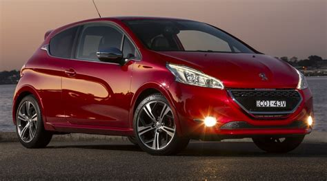 peugeot price australia peugeot 208 gti price and features for new pug