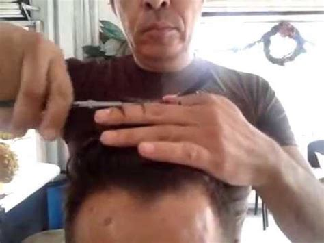 corte de pelo con tijera para caballero corte de cabello caballero con maquina y tijera b 225 sico