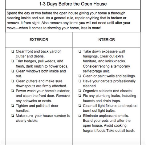 open house checklist how to hold the ultimate open house fsbo method