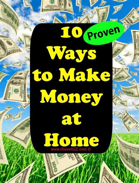 10 Ways To And Make Up by Ten Ways To Make Money At Home Ones And How To Make