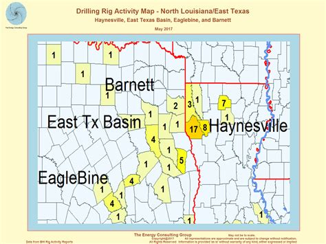 texas drilling map united states and gas drilling activity