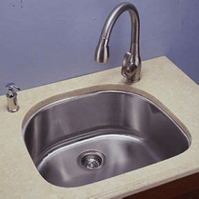 D Shaped Kitchen Sink Empire Industries S 1 Kitchen Fixtures Single D Shaped Stainless Sink