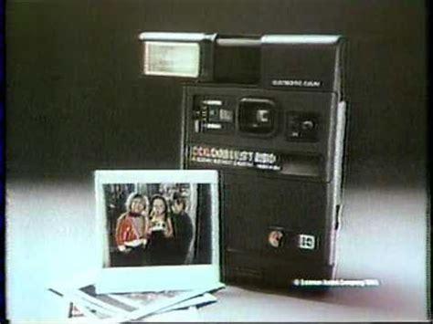 1980 kodak colorburst 250 instant camera commercial youtube