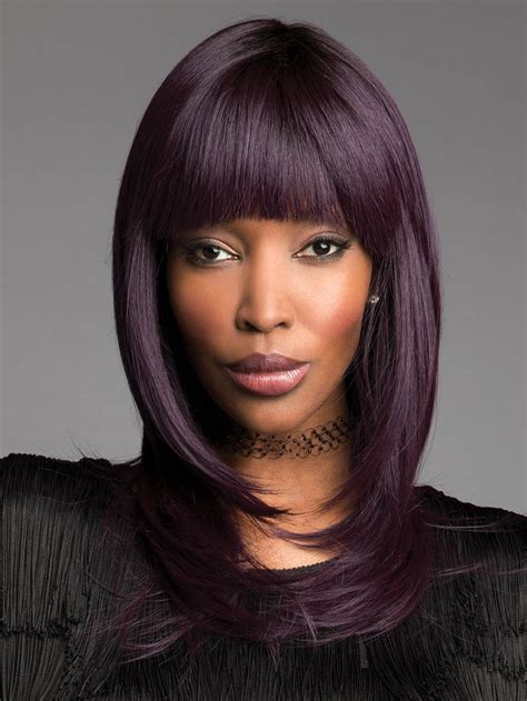 colored wigs spellbound by revlon colored wig basic cap wigs