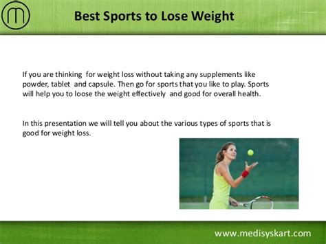 How To Lose Weight With Sports by Best Sports To Lose Weight