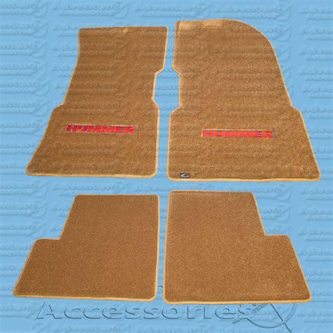 Hummer Floor Mats by Hummer H1 Premium Floor Mat Set W Logo
