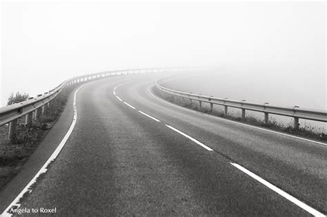 fotografien kaufen kurve stra 223 e im nebel atlanterhavsveien fotografien kaufen