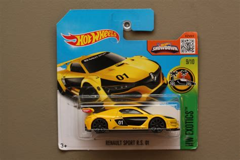 Hotwheels Renault Sport R S 01 1 wheels 2016 hw exotics renault sport r s 01 yellow see condition