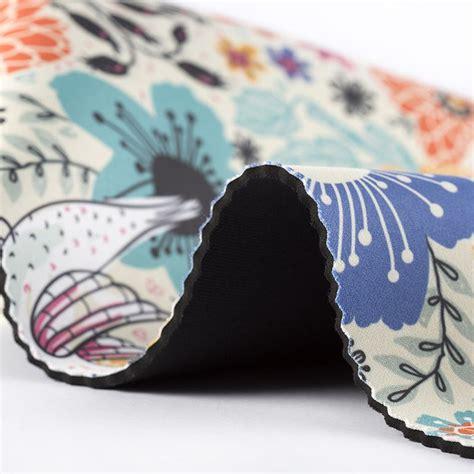 patterned neoprene fabric neoprene printing order online custom neoprene no minimum