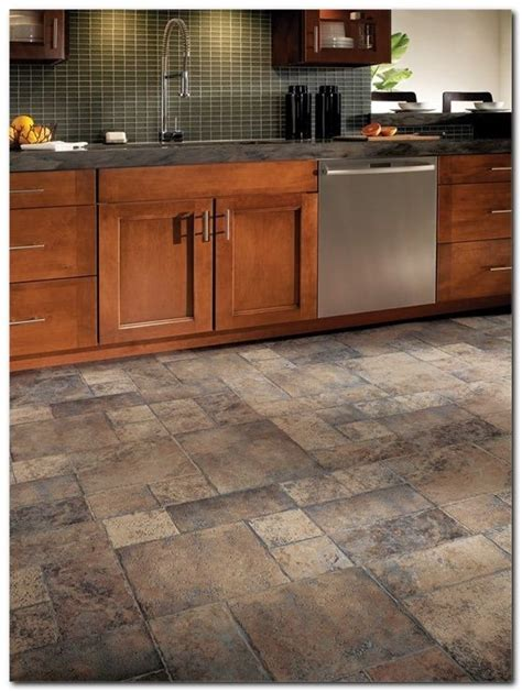 Best Kitchen Flooring Ideas by Luxury Tile Or Laminate Flooring In Kitchen Kezcreative
