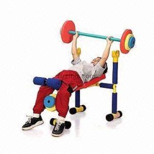 kids workout bench kids weight bench