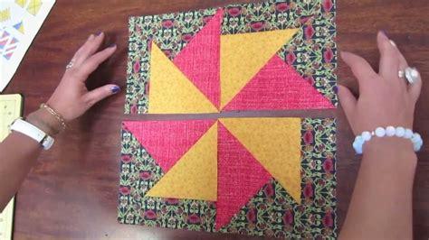 Pinwheel Patchwork - patchwork pinwheels variacion de molino