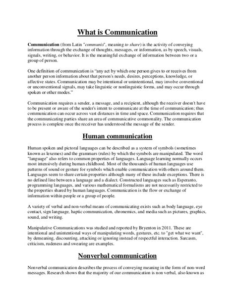Essays In Language On Inflation by Essay On Language And Communication Essay On Language Nonverbal Verbal Communication
