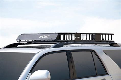 Curt Roof Rack by Curt Roof Mounted Cargo Rack Free Shipping