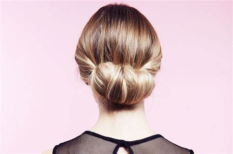 twisted flip bun updos pictures tutorial easy updo easy party hairstyles how to do a twisted bun up do step