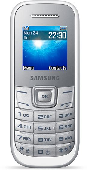 Samsung E 1200 Samsung E1200 Specs Contract Deals Pay As You Go