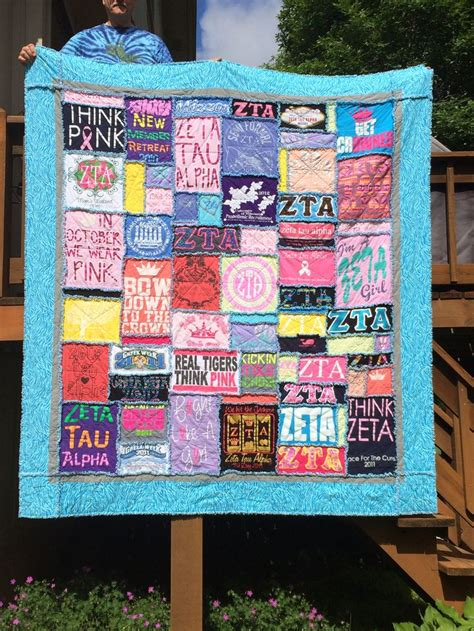 Handmade T Shirt Quilts - 7 best images about zeta tau alpha t shirts on