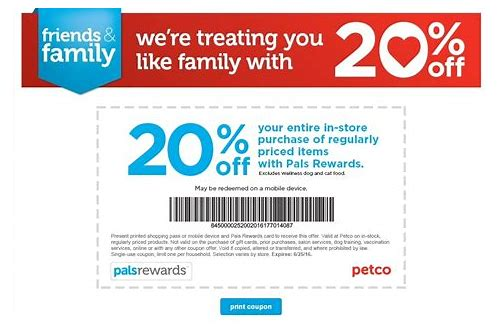 petco printable coupons november 2018