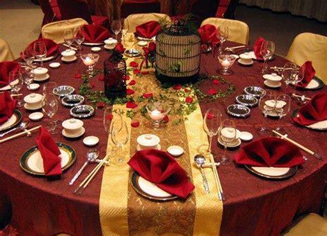 fall wedding table settings table setting for a fall wedding slideshow