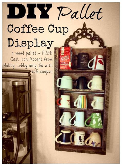 diy mug holder mug display on mug rack mugs and coffee mug