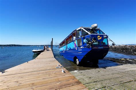 duck boat tours in portland maine portland duck boat operators reviewing safety procedures