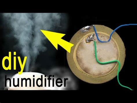 how to make an ultrasonic humidifier circuit diagram