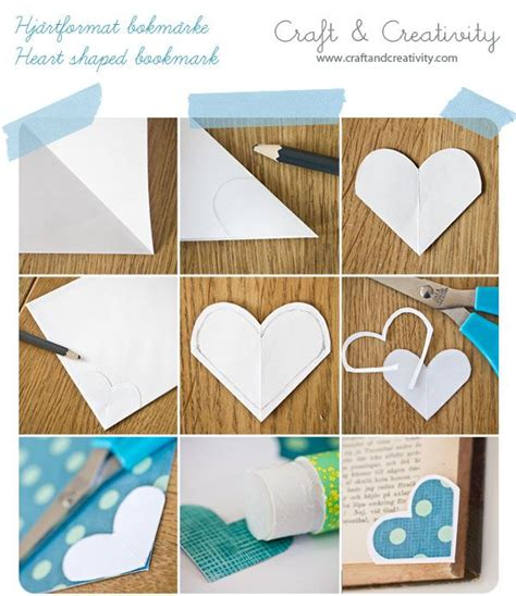 Make Paper Bookmarks - how to make shaped bookmarks you will need