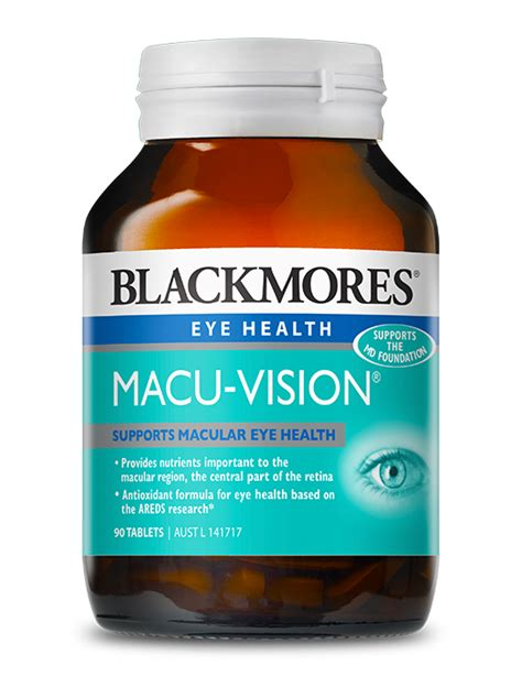 Blackmores Macu Vision 150 Tablets vitamins and multivitamins supplements from blackmores blackmores