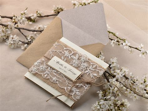 Chic Wedding Invitations by Mod Finds Rustic Chic Wedding Invitations Modwedding