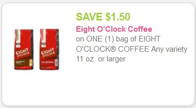 printable eight o clock coffee coupons new eight o clock coffee coupon kroger sale kroger krazy