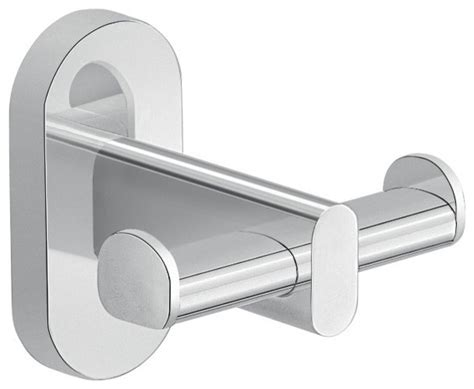 Bathroom Towel Hooks Chrome Wall Mounted Chrome Bathroom Hook Contemporary
