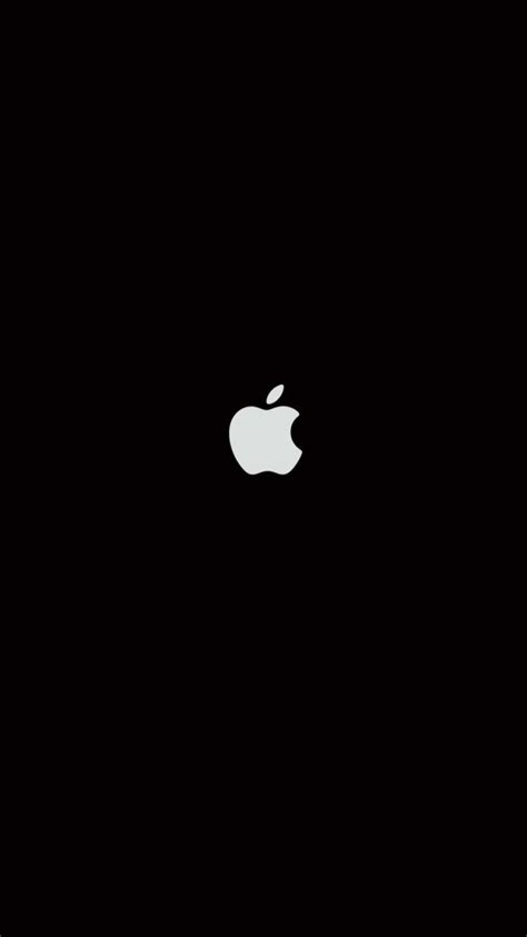 wallpaper black iphone plain black iphone 6 wallpaper 27063 logos iphone 6
