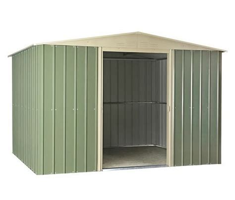 Metal Shed 10 X 8 by 10 X 8 Lotus Apex Metal Shed What Shed