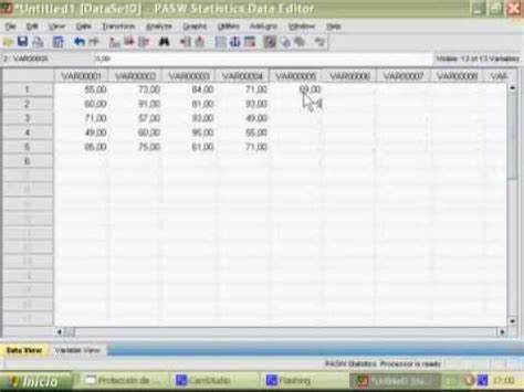 tutorial spss 19 youtube spss tutorial epo 74 turno vespertino 3 176 2 2009 youtube