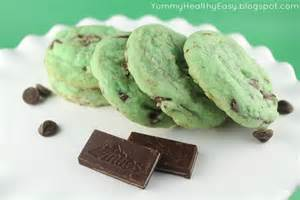 mint cookies green mint chocolate chip cookies healthy easy