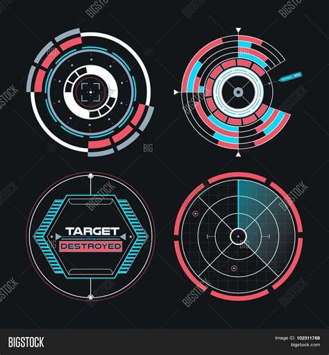 ui design elements vector ui infographic interface web elements futuristic space