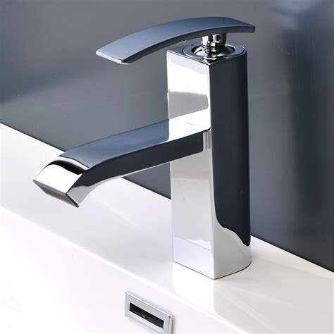 chrome bathroom fixtures bathroom faucet chrome ouli m11001 081c conceptbaths