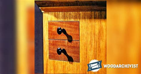 secret drawer hidden compartment furniture � woodarchivist