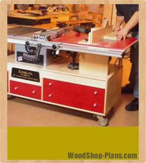 Table Saw Workstation Plans by Tablesaw And Router Workstation Woodworking Plans
