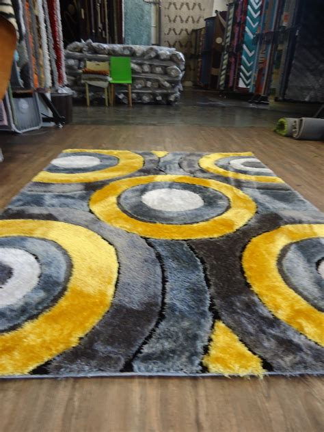 Yellow Area Rugs For Kitchen Yellow Rug Goldyellow Woolsilk Tufted Rug With