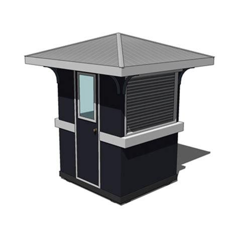 Kitchen Booth Furniture guard house medium 3d model formfonts 3d models amp textures