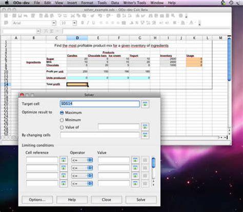 Mac Open Office by Free Mac Office Suite For Mac Osx Platform