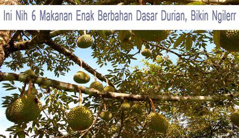 Daging Durian By Asli Durian by Ini Nih 6 Makanan Enak Berbahan Dasar Durian Bikin